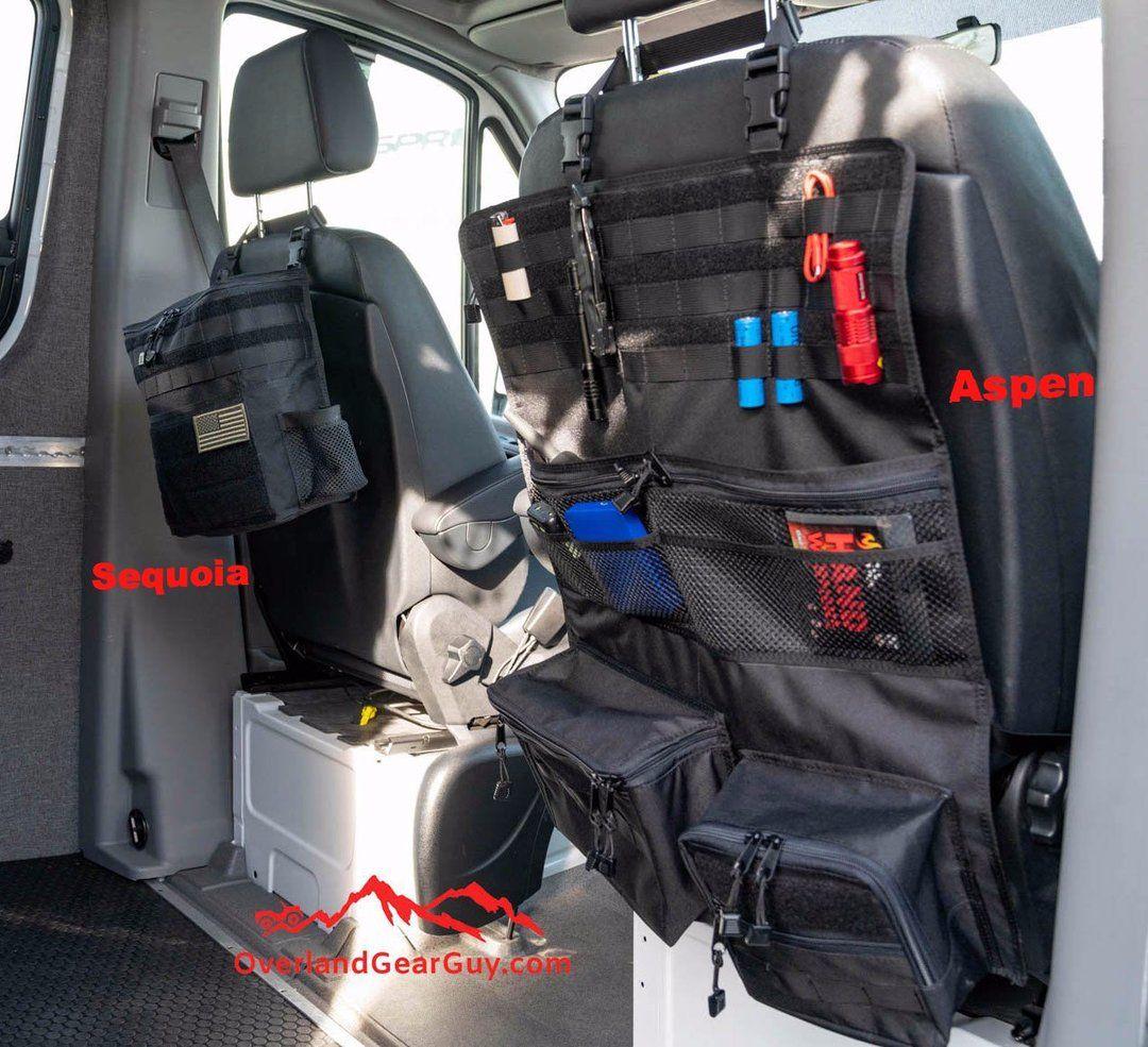Aspen Seat Organizer Overland Gear Overland Truck Overlanding