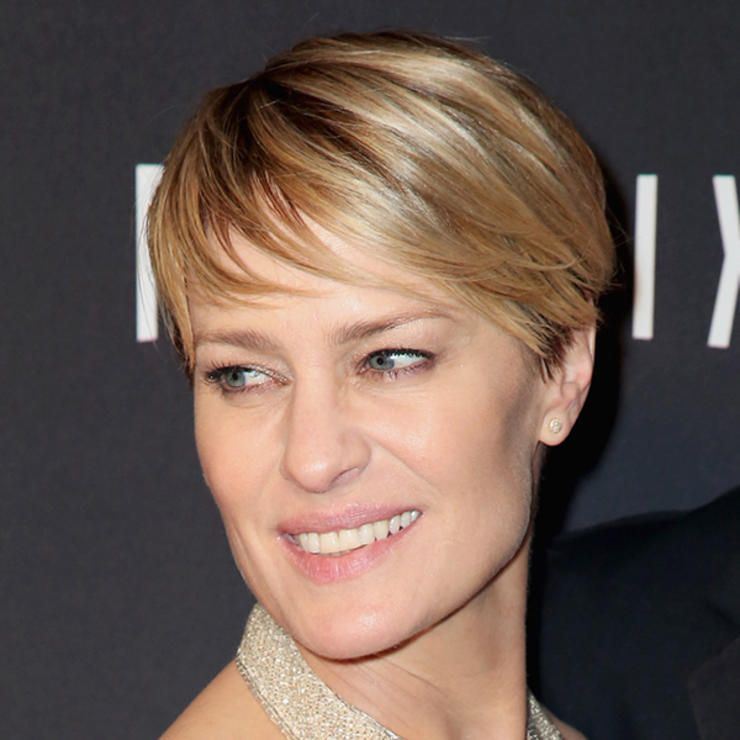 Best Hair Colors For Women Over 40 Robin Wright Hair Coloring And
