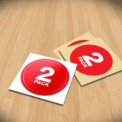 Busby nz ltd matt paper stickers size 35mm stickerdot