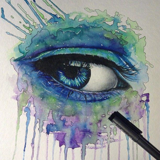 Blue Eye by ~DeadOceans on deviantART