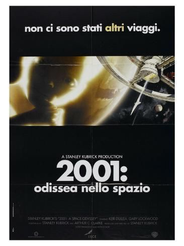 2001 A Space Odyssey Italian Movie Poster 1968 Art Print Art Com In 2021 Italian Movie Posters Space Odyssey Movie Posters