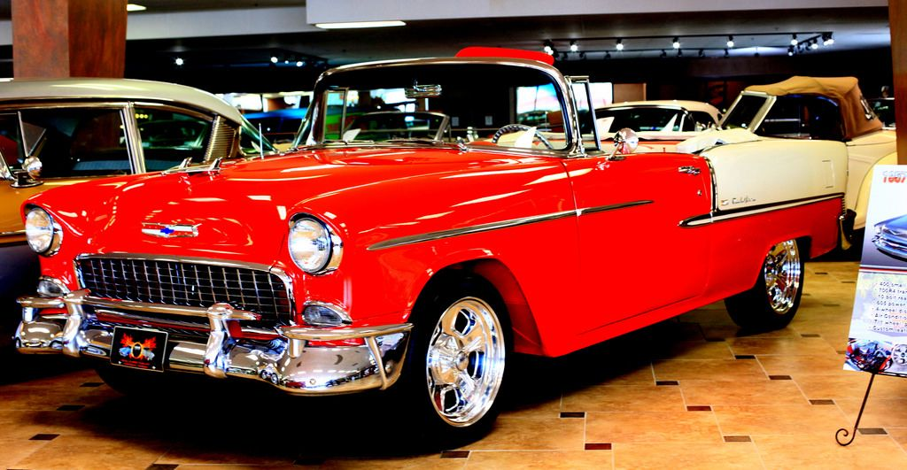 Classic 1955 Chevy Convertible