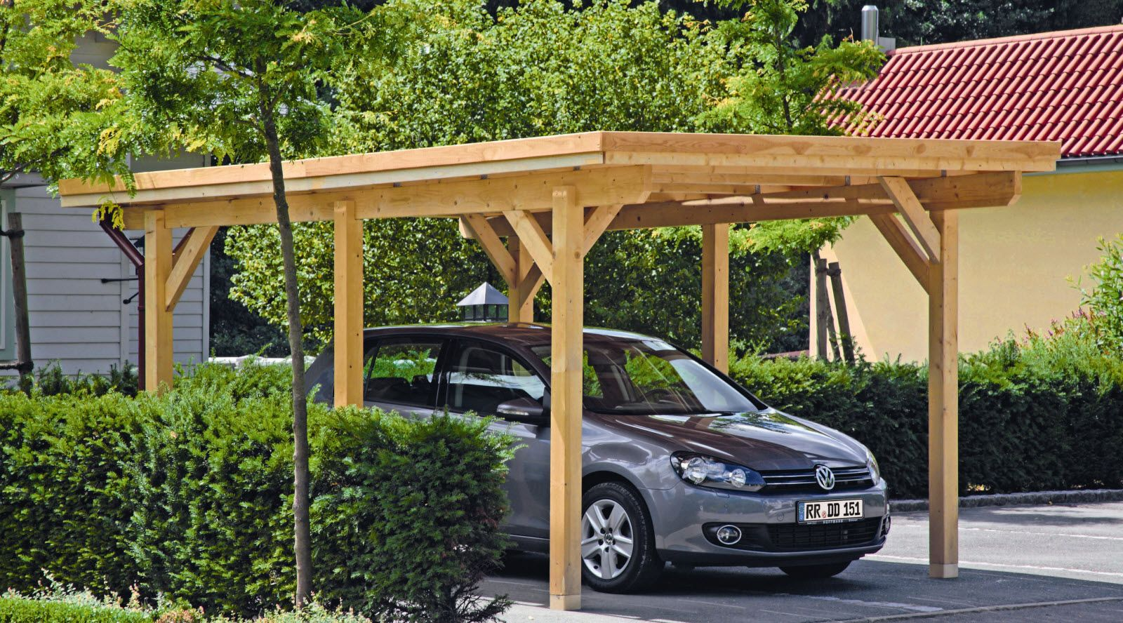 lohnt es sich den carport selbst zu bauen carport bauen ideen pinterest holz carports. Black Bedroom Furniture Sets. Home Design Ideas