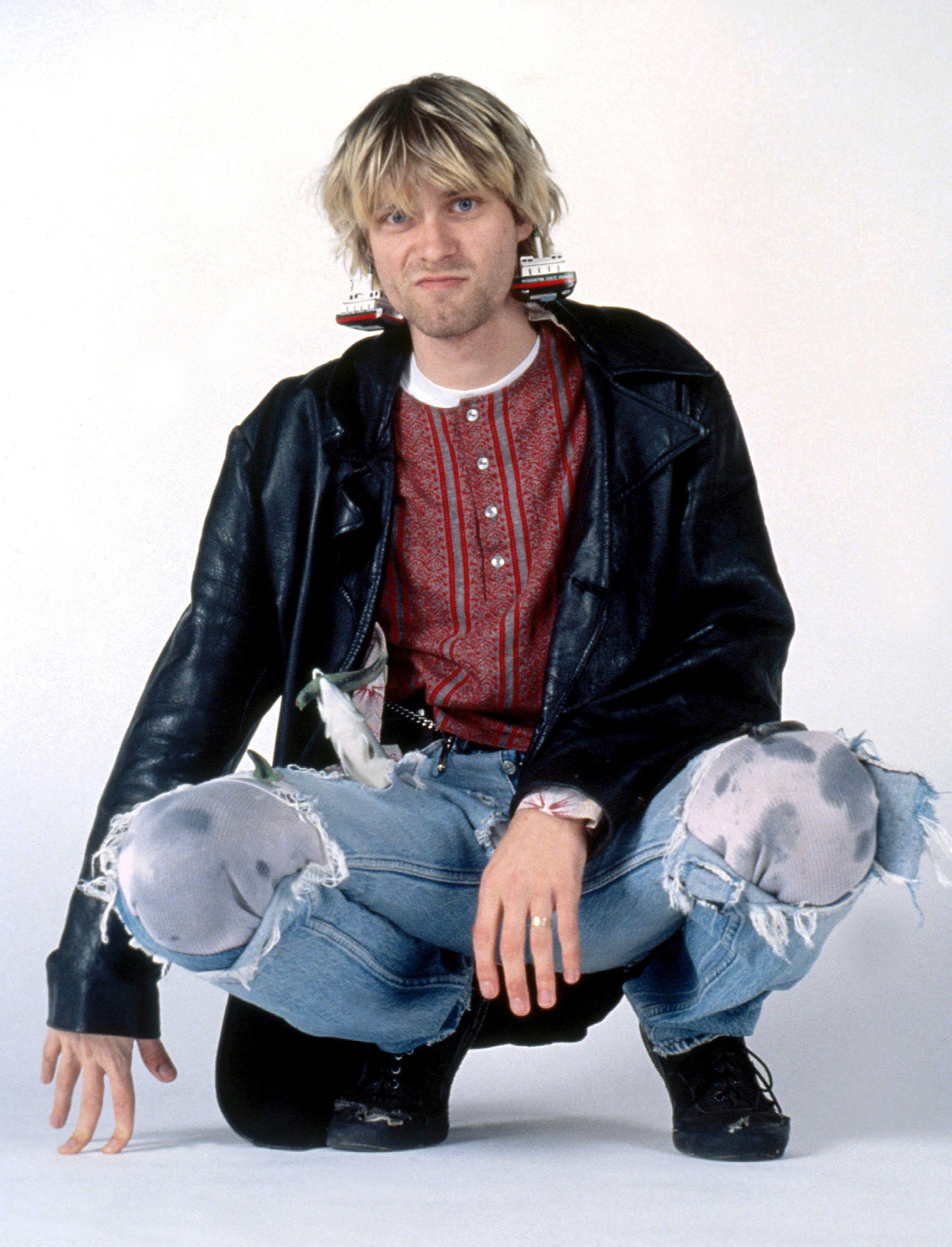 Kurt Cobain November 1992 Seattle Wa Kurt Cobain Style Kurt Cobain Donald Cobain [ 3669 x 2803 Pixel ]