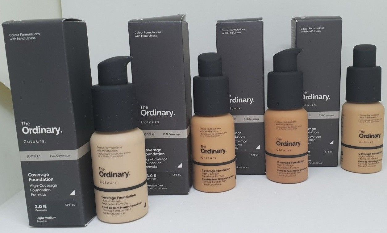The Ordinary Coverage/Serum Foundation SPF15 Full Size