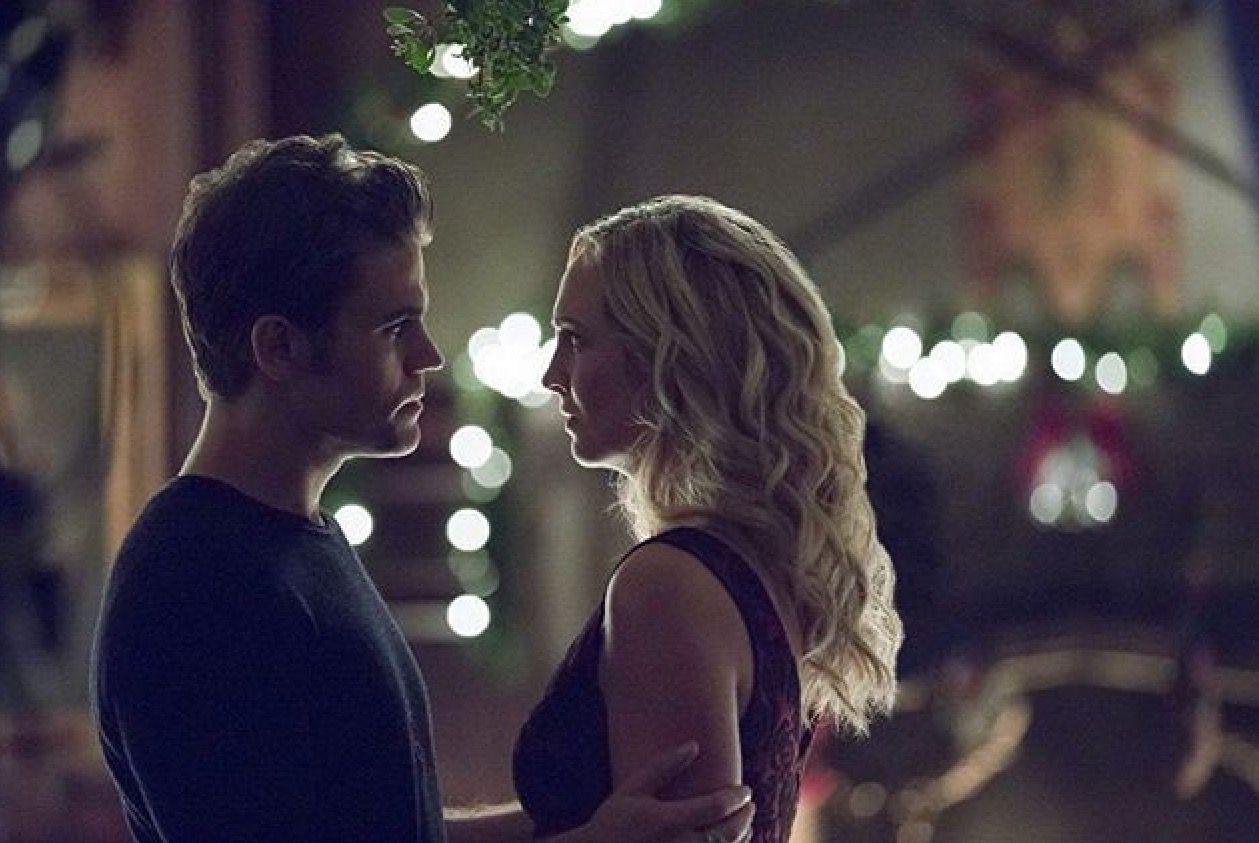 Steroline Tvd S8 Vampire Diaries Stefan E Caroline E The