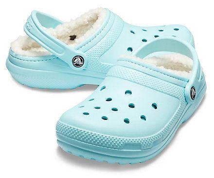 light blue crocs