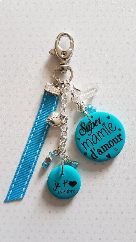 T'aime D'amour Bijou Mamie Ou Super Sac De Je Porte Clefs N8PwOkn0X