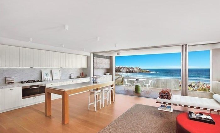Bondi Beach prestige apartment listing by Robert Fiani in slow-selling Investec block