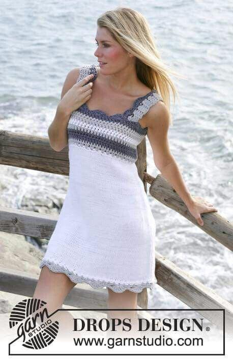 Pin von Susan Jones auf Crochet Dresses | Pinterest | gehäkelte ...