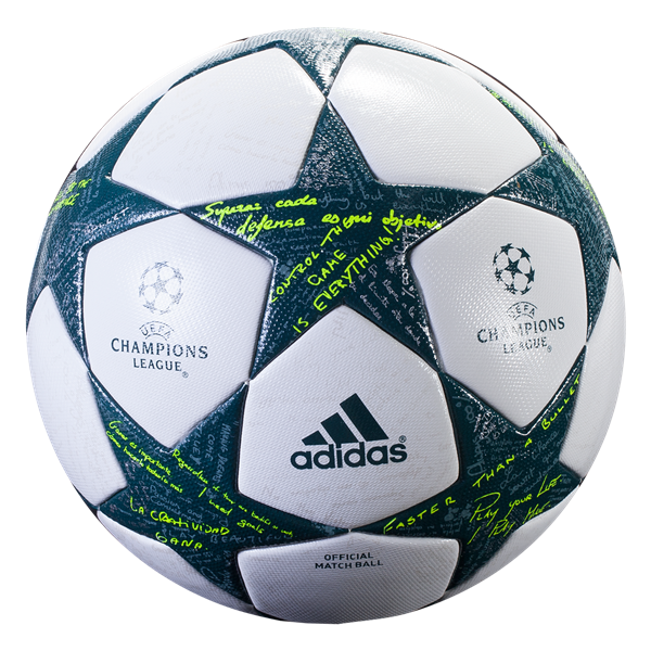 adidas finale official match ball adidas asked uefa champions league legends the question how do you win your way t soccer world soccer shop soccer ball adidas asked uefa champions league