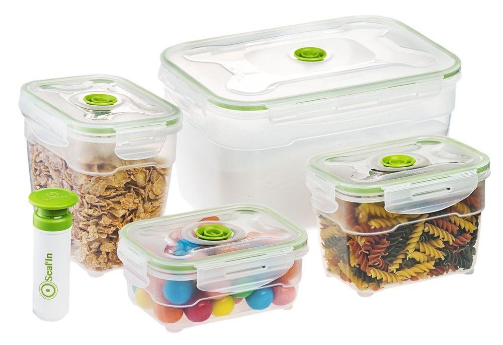 Food · Sealu0027In Nestable Food Storage Vacuum Containers ...