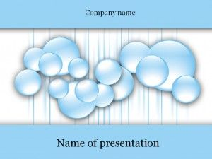Water bubbles powerpoint template templates pinterest water bubbles powerpoint template toneelgroepblik Choice Image