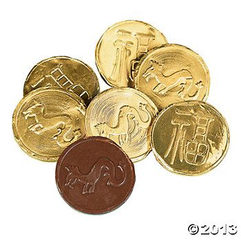 Chinese New Year Chocolate Gold Coins | Chinese new year ...