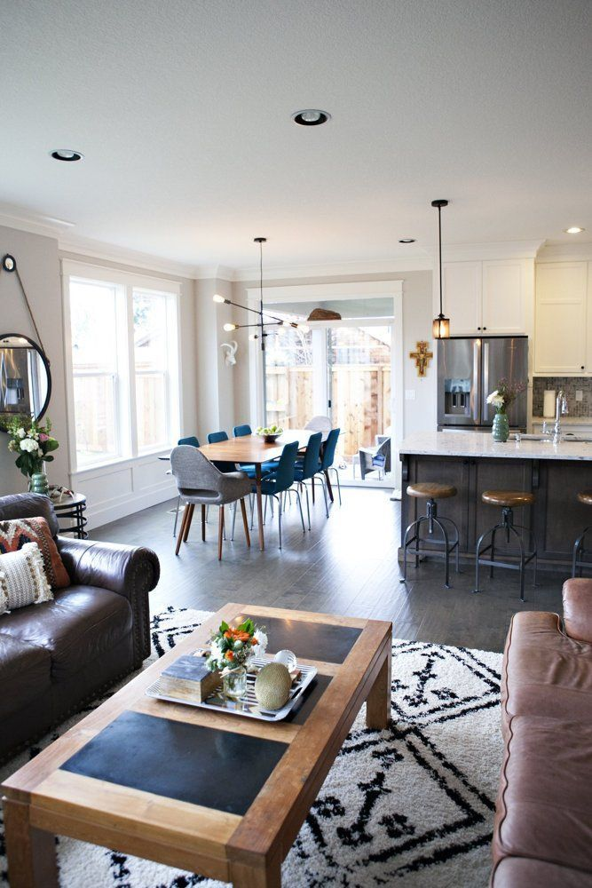 """sara & shawn's rustic & modern """"made in oregon"""" style 
