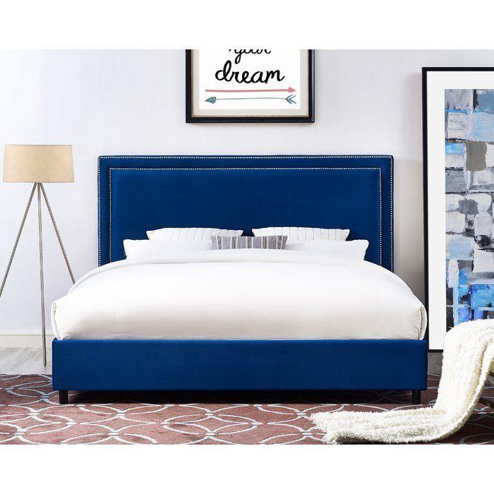 bram upholstered platform bed beds velvet black tufted bedroom set