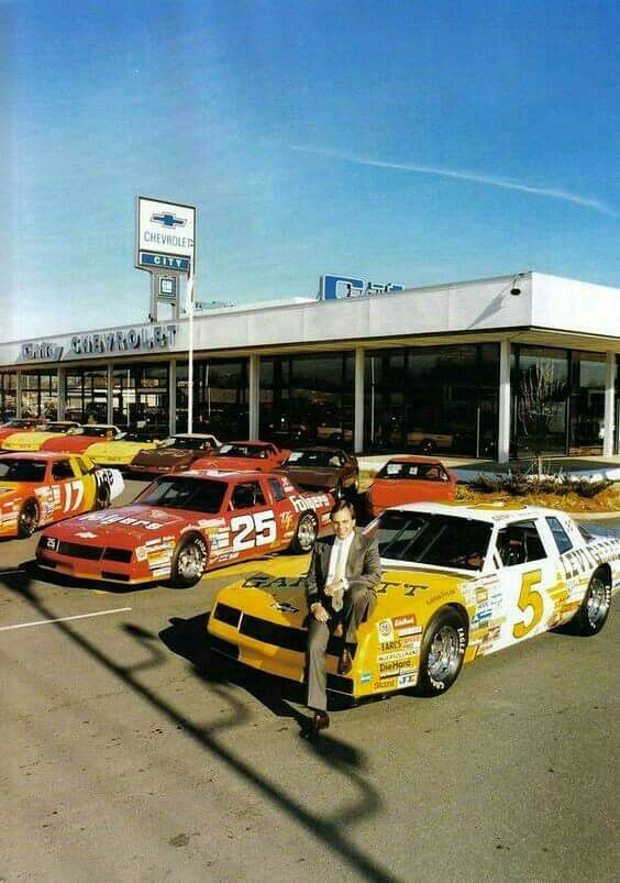 Mr. H. Rick Hendrick At City Chevrolet... Where It All Began.