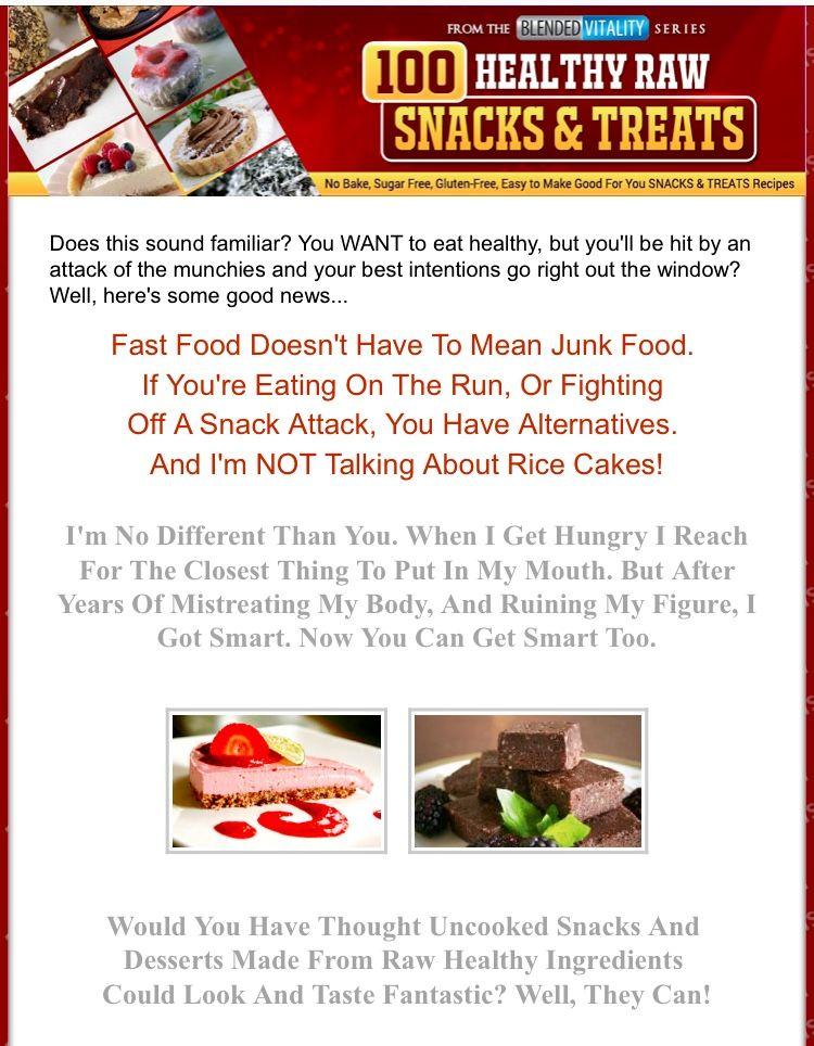 100 Healthy Raw Snacks And Treats #healthysnacks #healthytreats #healthyfood