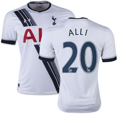 ... Nike 20 White Navy Dele Alli Tottenham Hotspur FC Jersey - Replica Mens  15 ... d8790ba4a