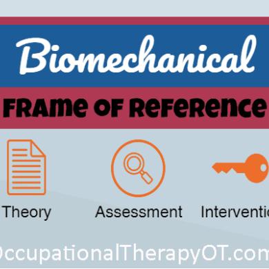 Biomechanical Frame of Reference | OT | Pinterest