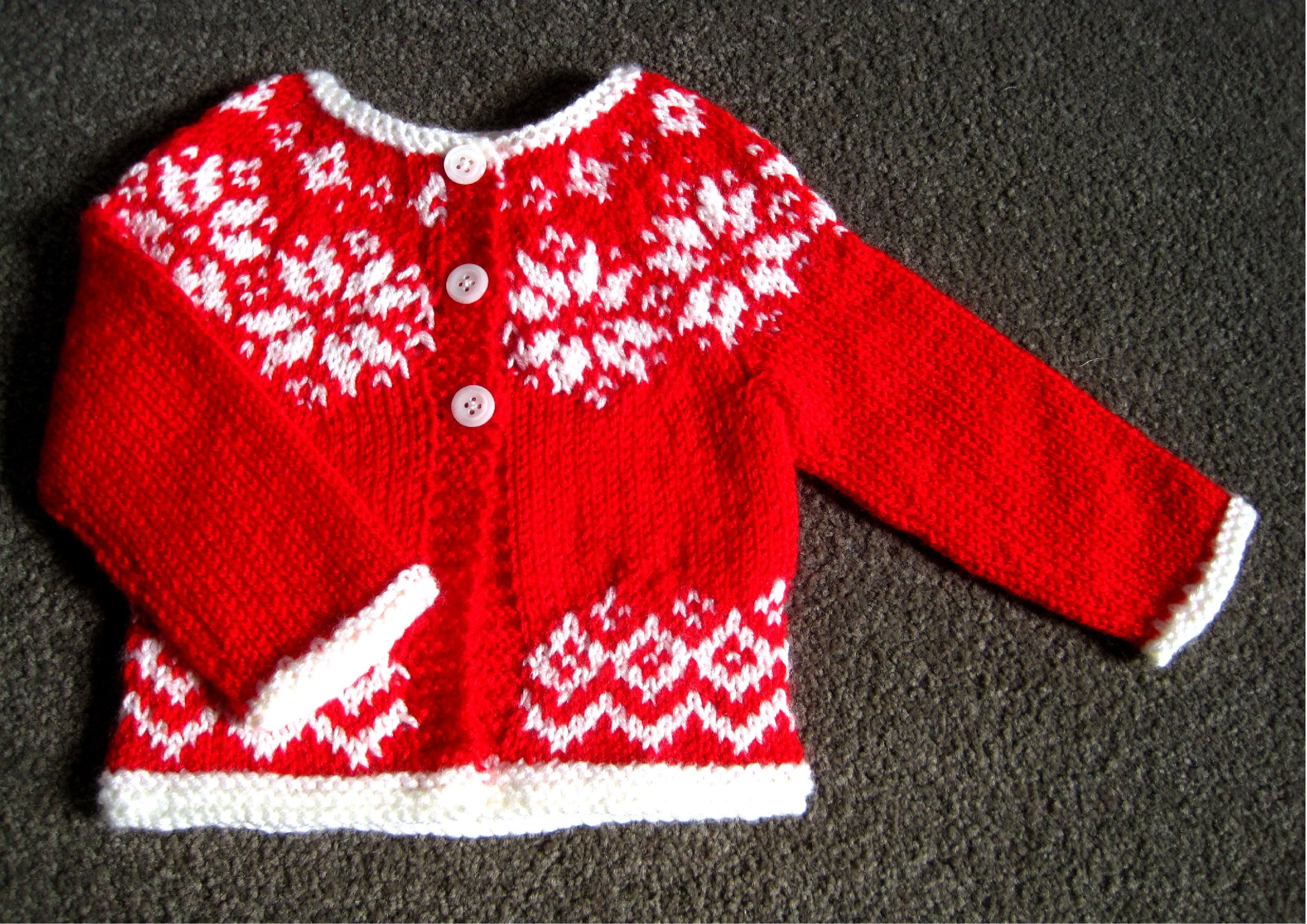 Elsa Cardigan knitting pattern by Suzie Sparkles christmas sweater ...