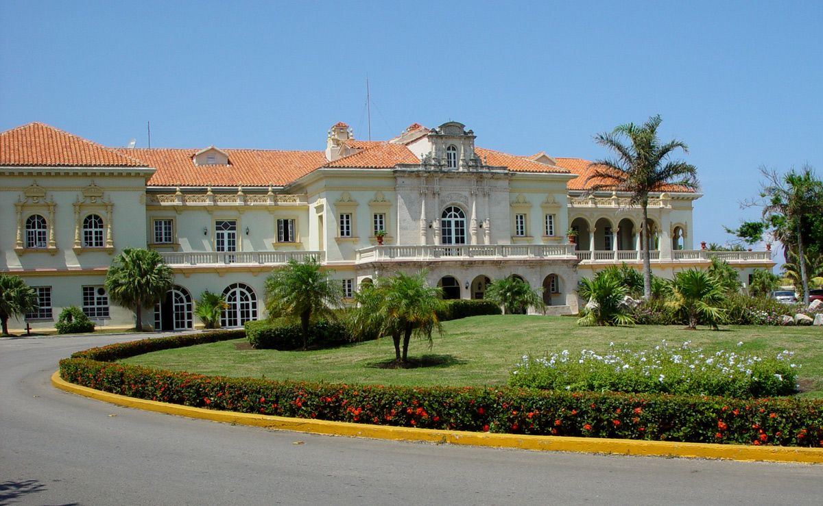 The former Havana Biltmore Yacht and Country Club Cuba