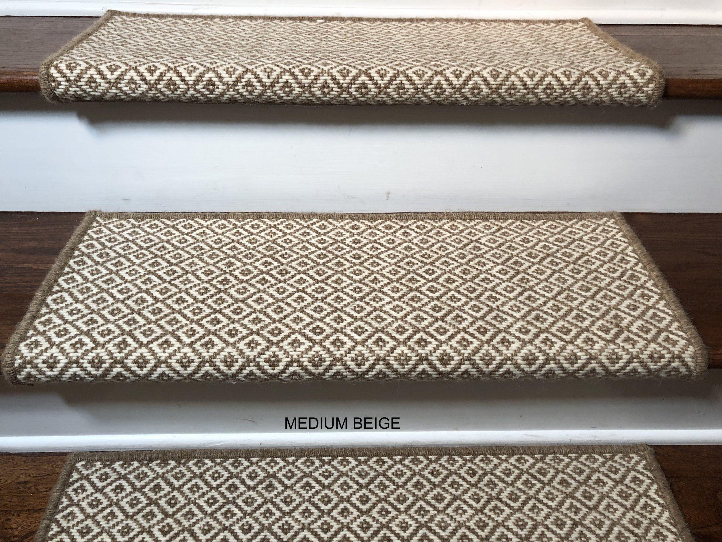 Medium Beige Types of carpet, Carpet stairs, Carpet