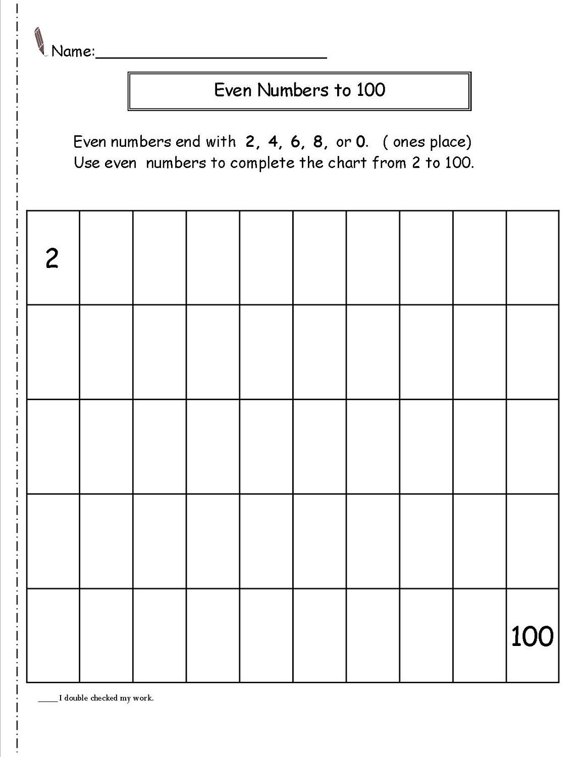 6 Even And Odd Number Worksheets Printable In
