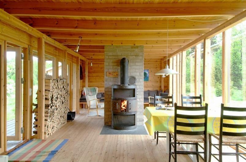 scandinavian retreat.: Architects cabin