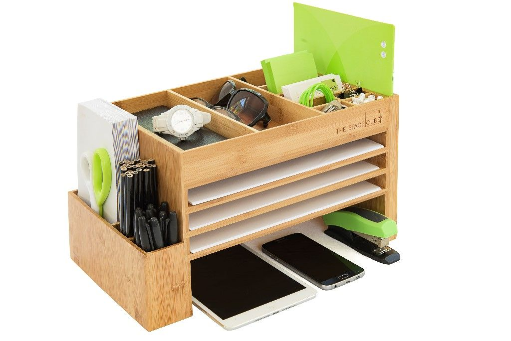 The New Look Of Organisation Sleek Modern And Space Efficient Desk Accessory And Organis Desk Organization Workspaces Desk Organization Diy Desk Organizers