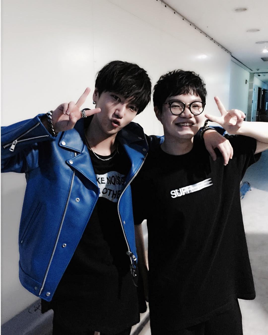"160620 #Yesung IG update ""Brother 🍬 #예지트"" #SuperJunior"