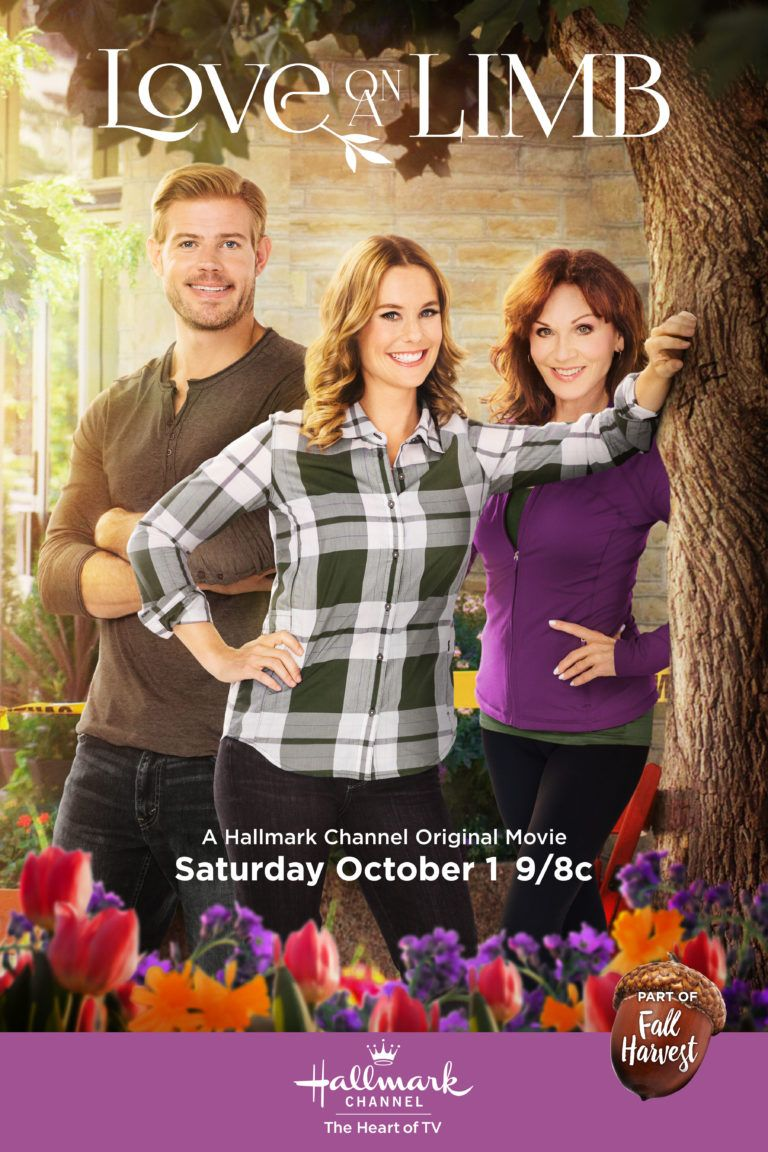 the fall harvest hallmark movie schedule begins with love on a limb