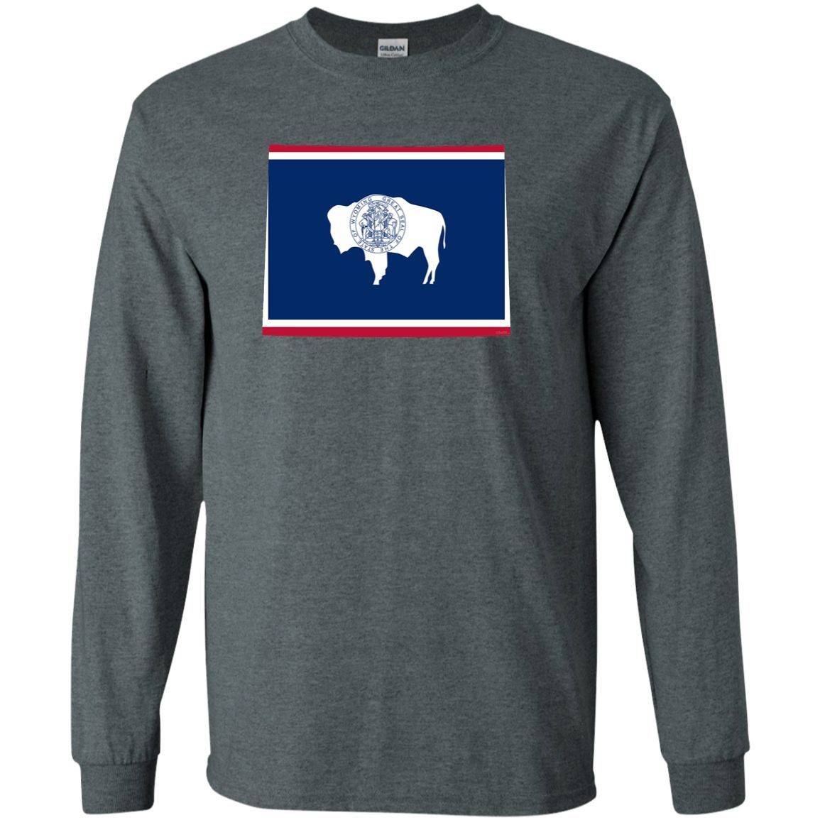 WY State Flag LS