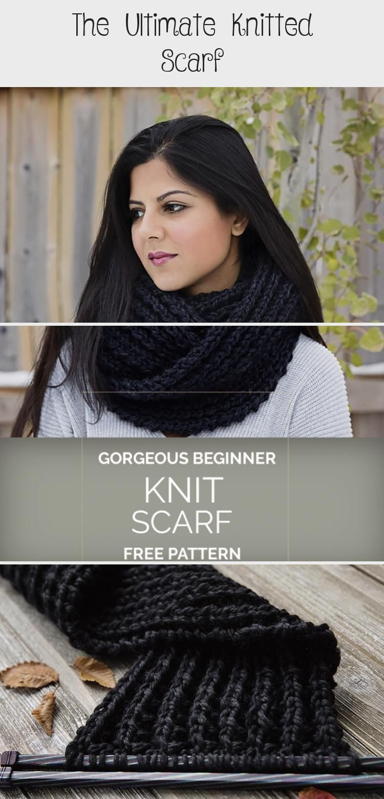 Photo of Der ultimative gestrickte Schal – Leelee Knits #knittingCardigan #knittingPictures #k …