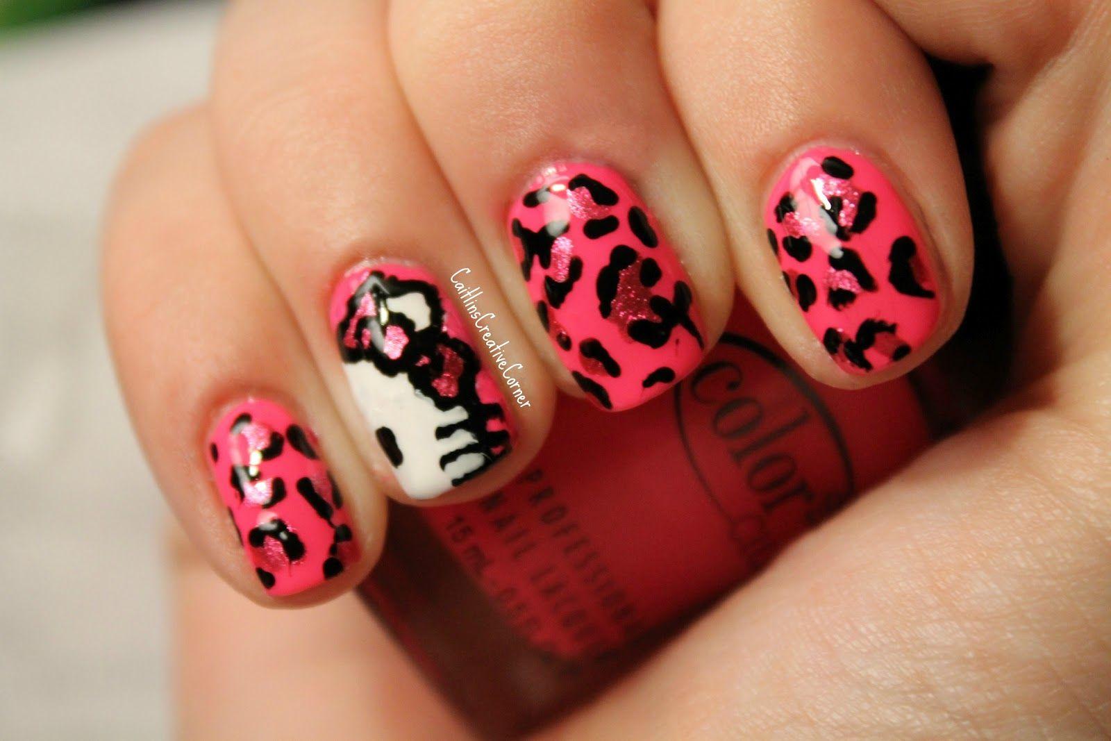 Love Them 3 Nails Pinterest Art Nails Hello Kitty Nails