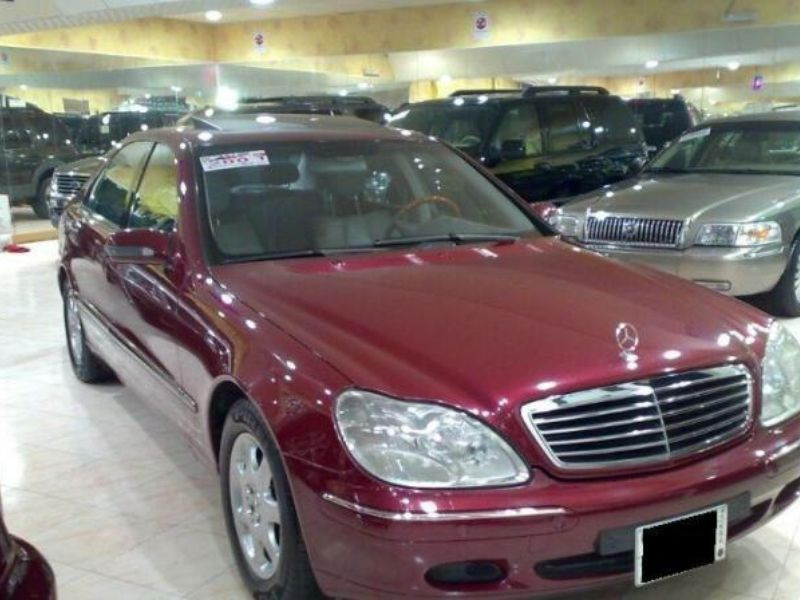 للبيع مرسيدس بنز موديل S320 2001 لون عنابي سعودي حراج Vehicles Car