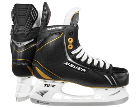 Bauer Supreme One 7 Ice Hockey Skate Senior Www Jerryshockey Com Ice Skating Hockey Equipment Hockey