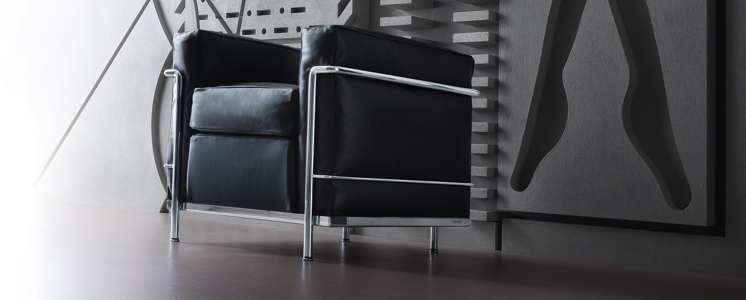 LC2 | Le Corbusier | Cassina | 1928 | «La casa è una macchina per abitare.»