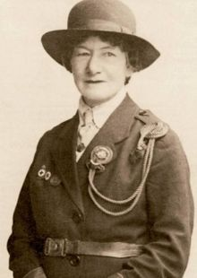 Agnes Baden Powell Sister Of Lord Baden Powell Formed The Girl