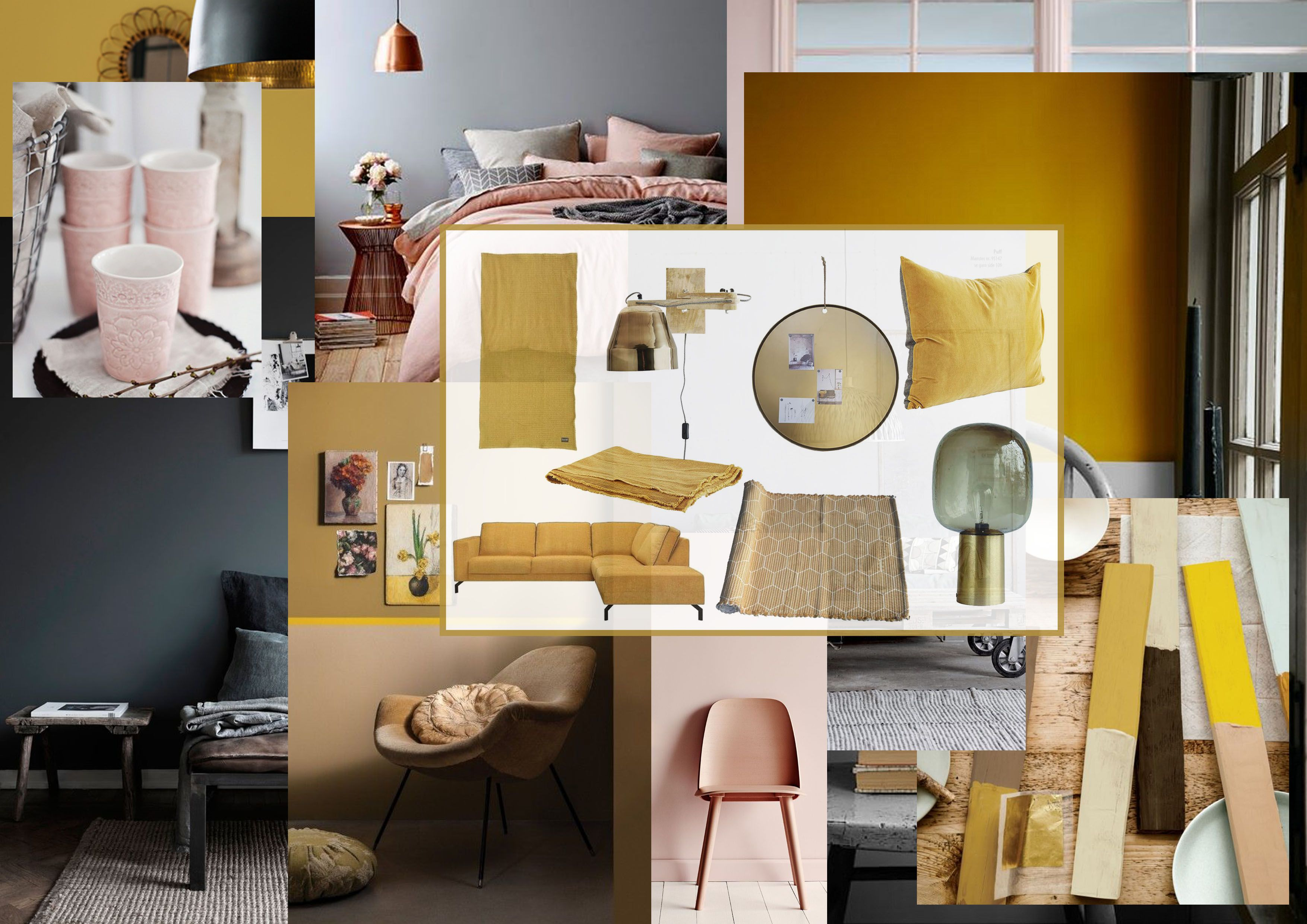 1000  images about   flexa's colour of 2016: okergoud / ochre gold ...