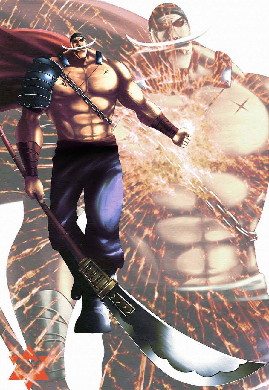 Edward Newgate Barbablanca One Piece Manga One Piece Luffy