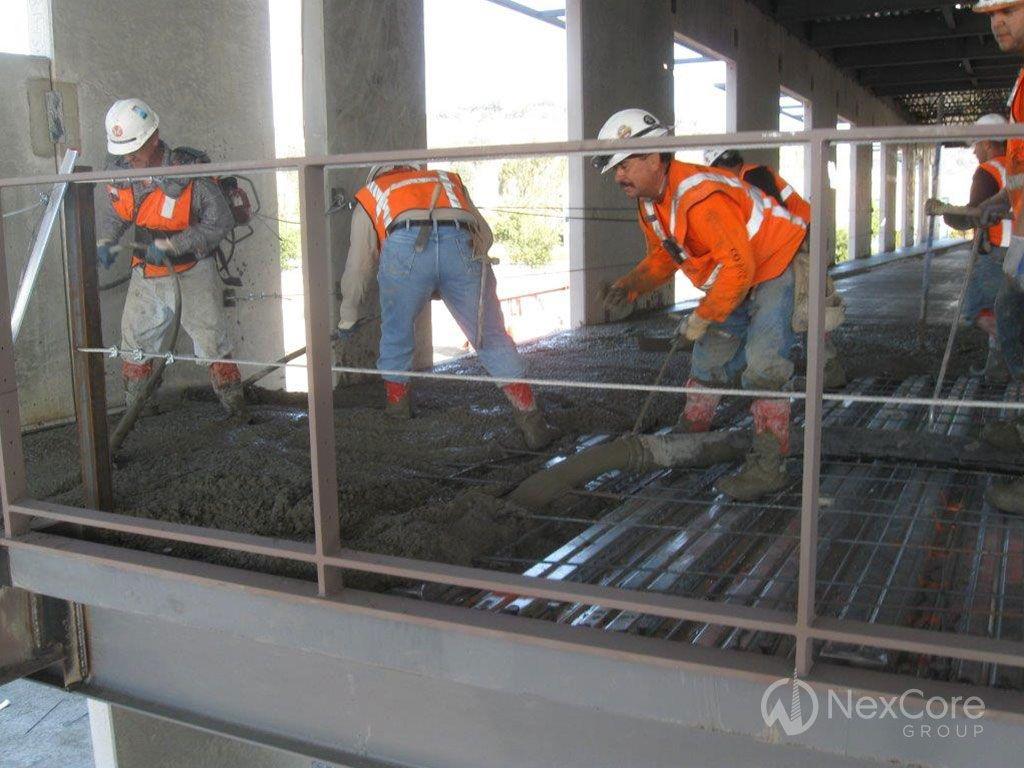 NorthBay Healthcare, Green Valley Health Plaza, Construction Progress, October 11, 2013