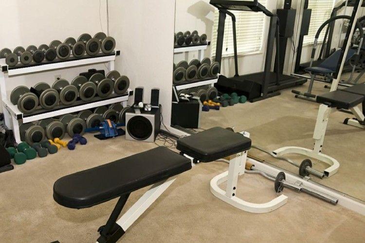 44 Minimalist Small Spaces Exercise Room Ideas design space ideas