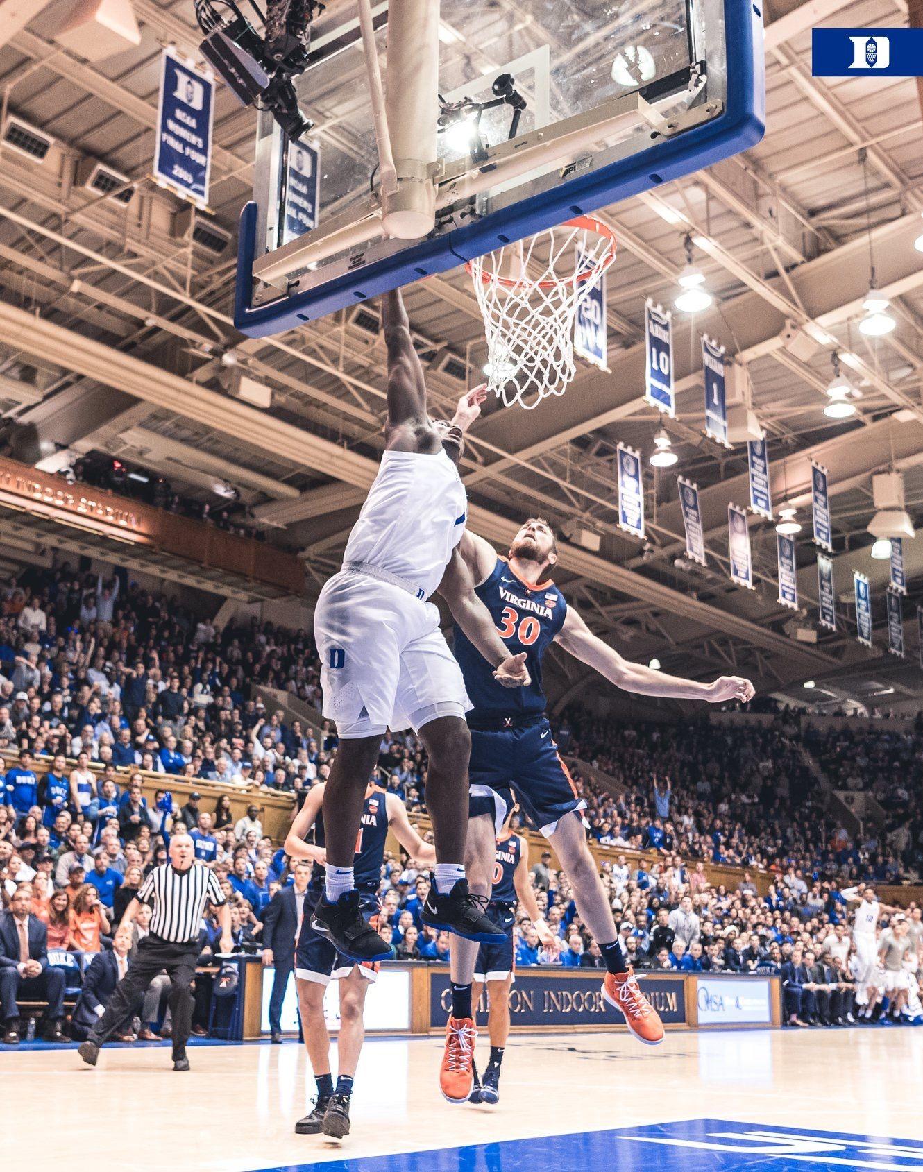 Duke over VA 7270 1/19/19 Duke basketball, Virginia