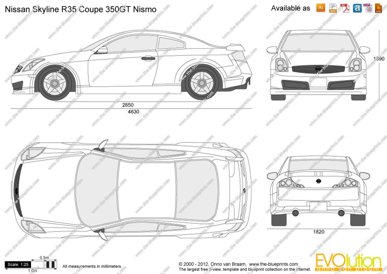 Nissan skyline r35 blueprint 3 mini1 pinterest nissan nissan skyline r35 blueprint 3 malvernweather Choice Image