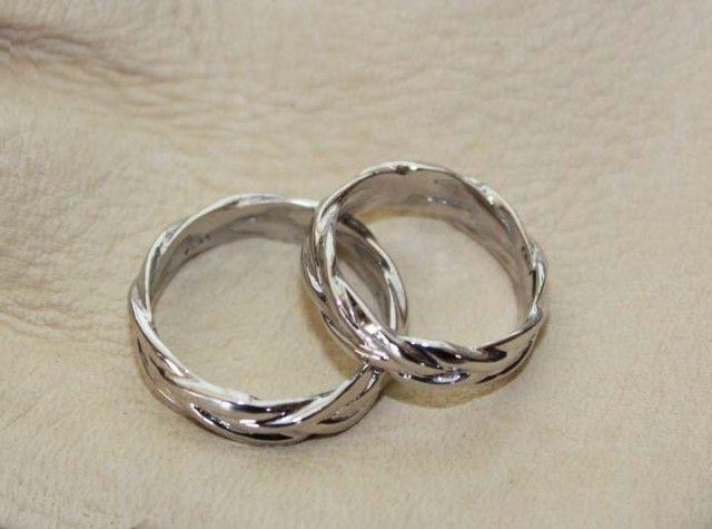 Platinum Wedding Rings Spanish Ring Knot