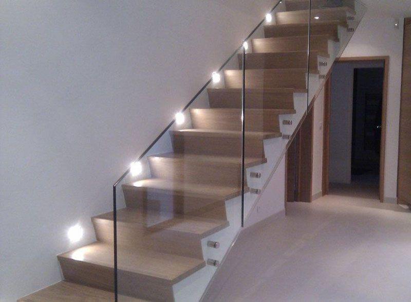 Barandilla de vidrio btx deskal escaleras pinterest baranda vidrio barandilla cristal y - Escaleras con cristal ...