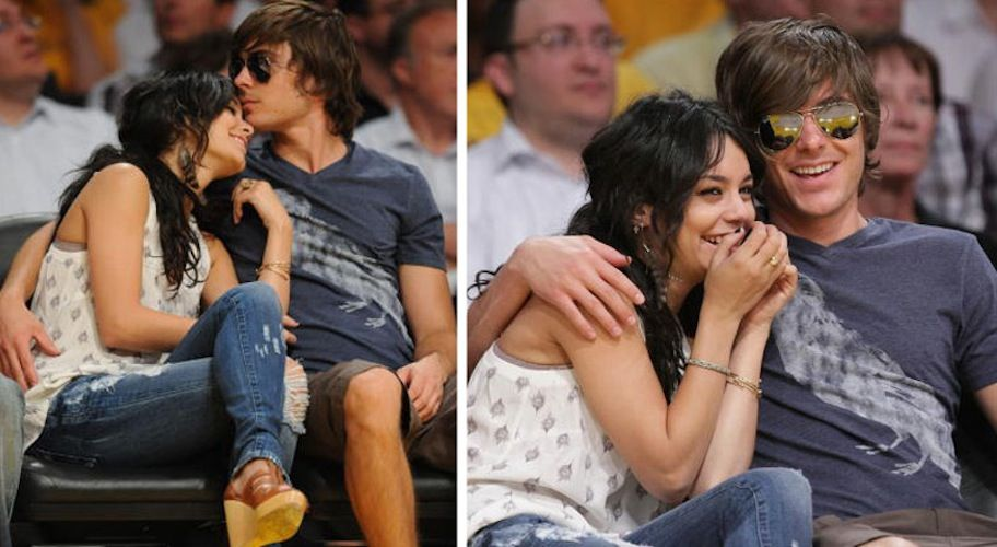 Vanessa Hudgens Sucker Punches Zac Efron Gets Sexy Out With Josh Hutcherson Hollywood Life