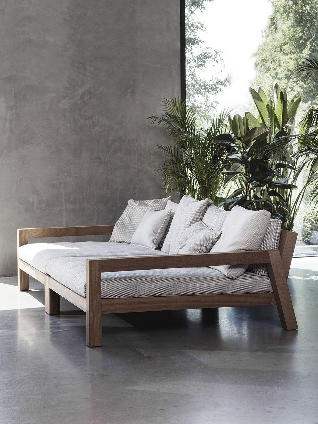 lars lounger daybed home pinterest balkon drinnen und wohnzimmer. Black Bedroom Furniture Sets. Home Design Ideas