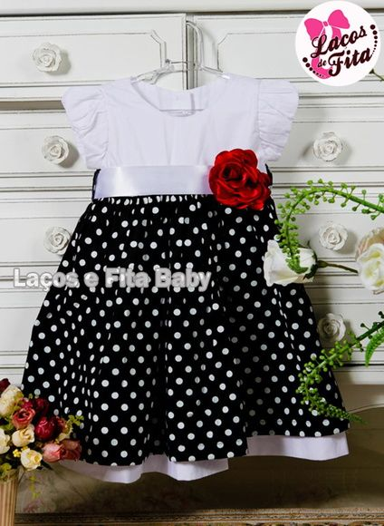 35964762c48 Vestido Infantil da Minnie Mais
